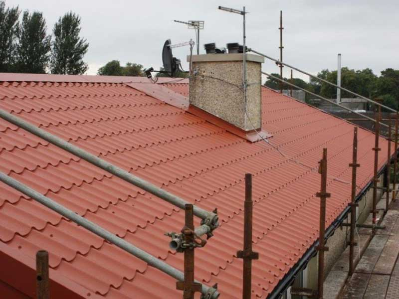 Roof Repairs Glasgow Metile Roof Cladding Roof Seals Glasgow